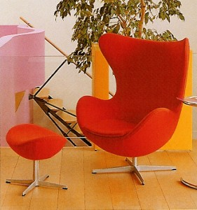 1957 jacobsen silla egg 281x300 Decoración. ¿Se acabaron las ideas?
