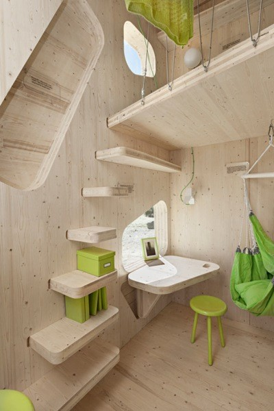 Tengbom Architects Student flat 5 600x899 La casa ideal para un estudiante
