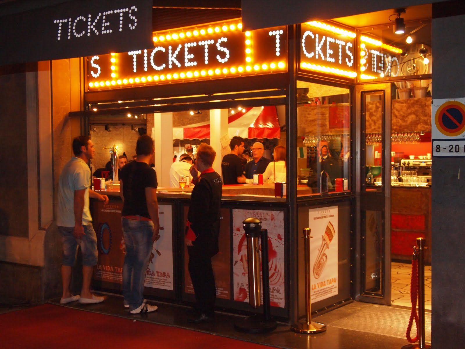 Tickets Tickets Bar: Un tapeo de lujo