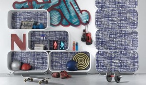 chic shelving system the cocoon by paola navone l modern shelves 300x176 Estantería modular