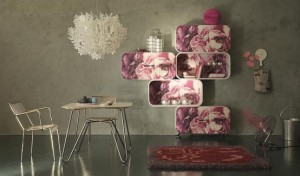 chic shelving system the cocoon by paola navone l wall shelves 300x176 Estantería modular