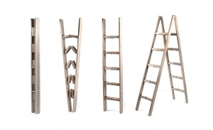 cornerladder2 300x183 Escalera plegable hasta los escalones