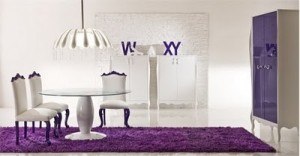 decoracion color violeta 7 300x156 Interiores de color violeta