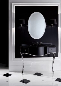 devon black lacquered console table 21 214x300 Un lavabo o un tocador?