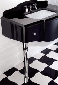 devon black lacquered console table 3 206x300 Un lavabo o un tocador?