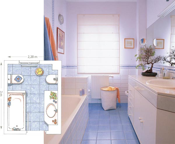 Ideas Para Decorar El Baño Fotos:Ideas para decorar tu baño: La Distribución