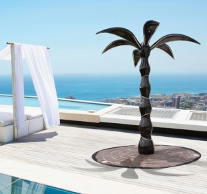 dometti outdoor shower palm 7 300x282 Ducha en forma de palmera