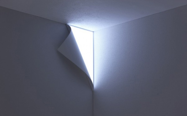 Decoracion de iluminacion - Lampara de pared ...