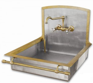 old style brass sinks by restart 5 300x269 Fregadero vintage