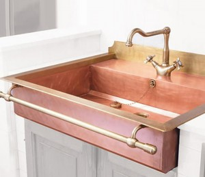 old style brass sinks by restart 6 300x259 Fregadero vintage