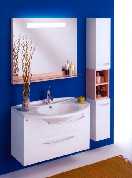 Decoracion Baño Azul:Ideas De Colores Para Banos