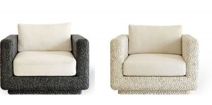 pebble seating 1231 300x149 Muebles con incrustaciones de piedras