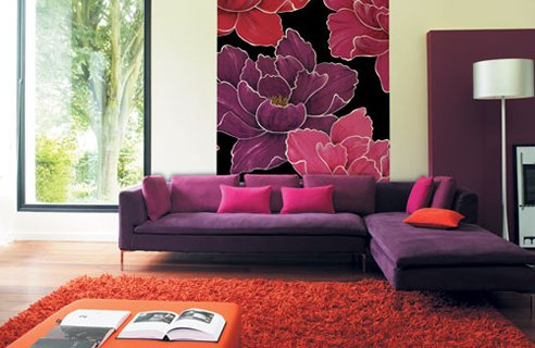 Living Room Furniture Purple dark purple living room wallpaper design of dark purple wallpaper