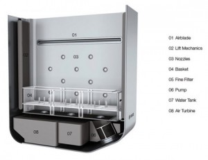space saving instant dishwasher by robert lange bosch 4 550x425 300x231 Lavavajillas para solteros