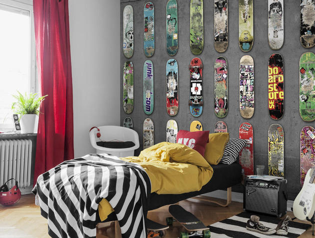 super realistic and tasteful wallpapers by mr perswall 1 thumb 630x477 16072 Decora las paredes de un dormitorio juvenil
